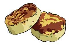 English Breakfast - Potato Cake Royalty Free Stock Photography
