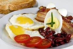 Free English Breakfast With Alarm-egg Royalty Free Stock Photo - 11944405