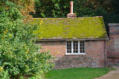 English brick cottage Royalty Free Stock Images