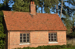 English brick cottage Stock Photography
