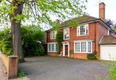 English brick house Royalty Free Stock Images