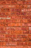 English brickwall. A part of a briсk-wall in a Hull, UK Stock Photography