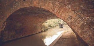 English bridge at the canal Royalty Free Stock Photo