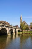 The English Bridge, Shewsbury. Royalty Free Stock Photos