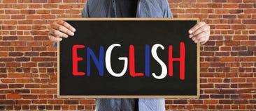 ENGLISH ( British England Language Education ) do you speak engl. Ish Royalty Free Stock Photo