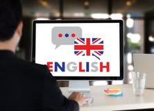 ENGLISH ( British England Language Education ) do you speak engl. Ish Stock Photo