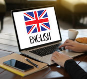 ENGLISH ( British England Language Education ) do you speak engl. Ish Royalty Free Stock Photography