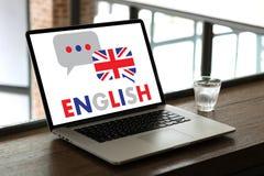ENGLISH ( British England Language Education ) do you speak engl. Ish Stock Photography