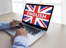 ENGLISH ( British England Language Education ) do you speak engl. Ish Stock Photos