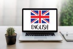 ENGLISH ( British England Language Education ) do you speak engl Stock Photo