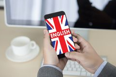 ENGLISH ( British England Language Education ) do you speak engl Royalty Free Stock Photos