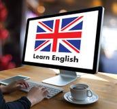 ENGLISH ( British England Language Education ) Learn English Lan. Guage Online Stock Photo