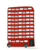 English bus Stock Photography
