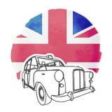 English Cab Stock Photography