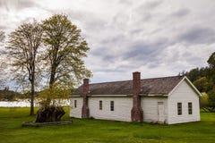 English Camp, Garrison Bay, San Juan Island National Historic Pa Royalty Free Stock Photos