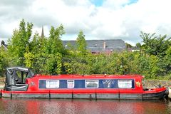 english canal boat Stock Images