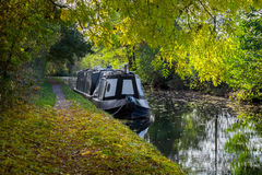 English canal boat. Stock Image