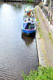 english canal boats Royalty Free Stock Photo