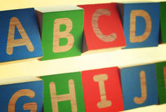 English capital letter Stock Photography