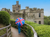English Castle Stock Images