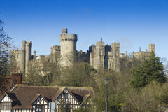 English castle Royalty Free Stock Photo