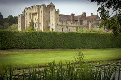 English castle and grounds Royalty Free Stock Photo