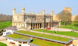 English castle Royalty Free Stock Photography