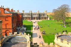 English castle Stock Photography