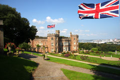 English castle, Mount Edgcumbe.Plymouth Royalty Free Stock Images