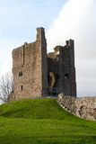 English castle ruins Royalty Free Stock Photography