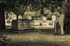 English cemetery Stock Photography