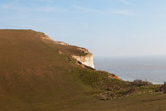 English chanel coast at Seven sisters cliffs, UK. Stock Images