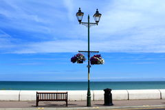 English Channel promenade Deal Kent Stock Image
