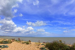 English Channel view Royalty Free Stock Photo