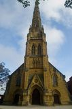 English church. In Southport,uk Royalty Free Stock Photo