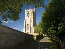 English Church. Church in the village of Wellow in Somerset England stock image