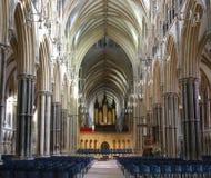 English church. Inside of an English Church Royalty Free Stock Photo