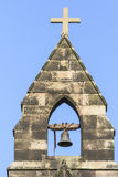 English Church Bell Tower Stock Image