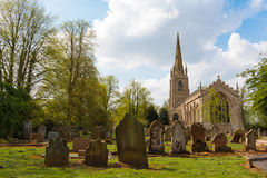 English church in Cambridgeshire, Moulton Royalty Free Stock Photo