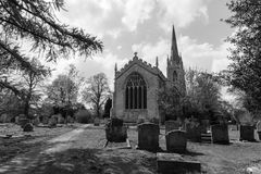 English church in Cambridgeshire, Moulton Royalty Free Stock Photos