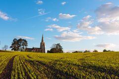 English church in Cambridgeshire Royalty Free Stock Images