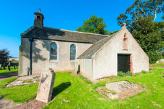 English church and cemetery Royalty Free Stock Photography