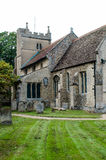 English church and church yard Royalty Free Stock Image