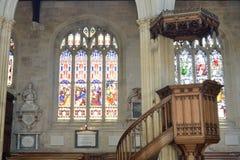 English Church Pulpit Stock Photos