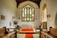English Church showing Altar Stock Photos