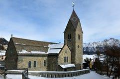 English Church St. Moritz Royalty Free Stock Photo