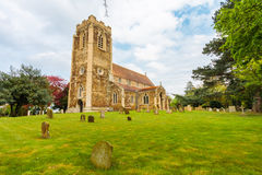 English church of Wolverton norfolk england Royalty Free Stock Photography