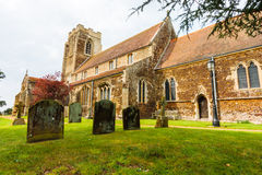 English church of Wolverton norfolk england Royalty Free Stock Images