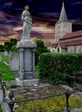 English churchyard Stock Photography