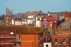English city architecture Royalty Free Stock Images